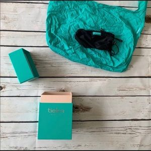 Tieks Box with Tote Bag and Drawstring Pouch Red